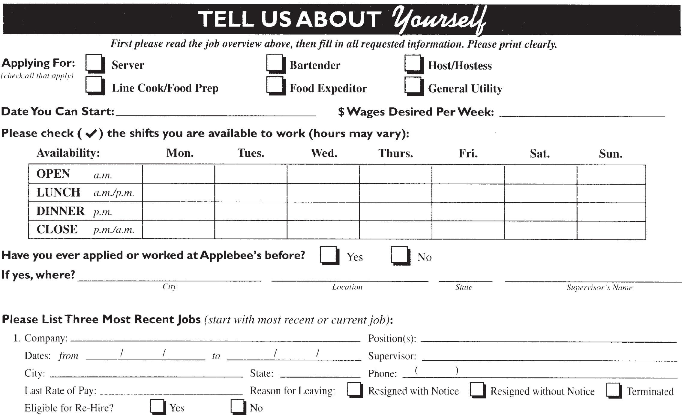 answers to mcdonalds application 2014 subway application